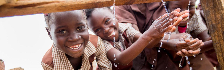 Pressalit er gået sammen med UNICEF for at arbejdet fokuseret med verdensmål 6